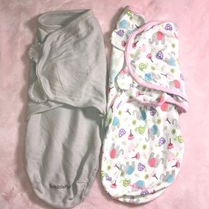Lot of 2 Swaddle Me Baby Swaddles